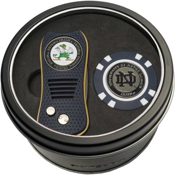 Team Golf Notre Dame Fighting Irish Switchfix Divot Tool and Poker Chip Ball Marker Set product image