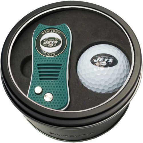 Team Golf New York Jets Switchfix Divot Tool and Golf Ball Set