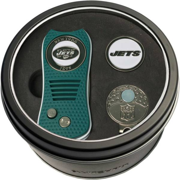 Team Golf New York Jets Switchfix Divot Tool and Cap Clip Set product image