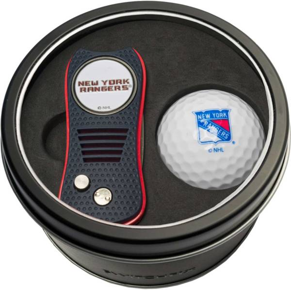 Team Golf New York Rangers Switchfix Divot Tool and Golf Ball Set product image