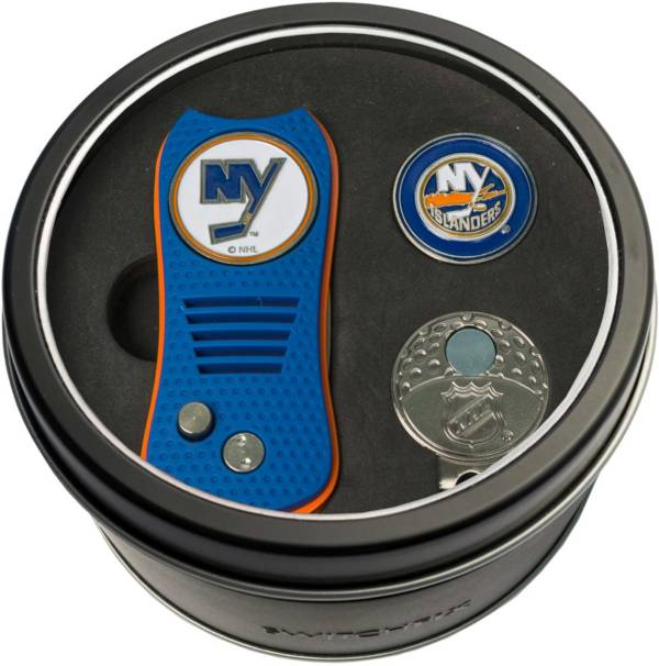 Team Golf New York Islanders Switchfix Divot Tool and Cap Clip Set product image