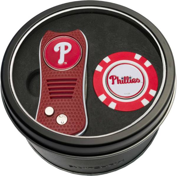 Team Golf Philadelphia Phillies Switchfix Divot Tool and Poker Chip Ball Marker Set product image