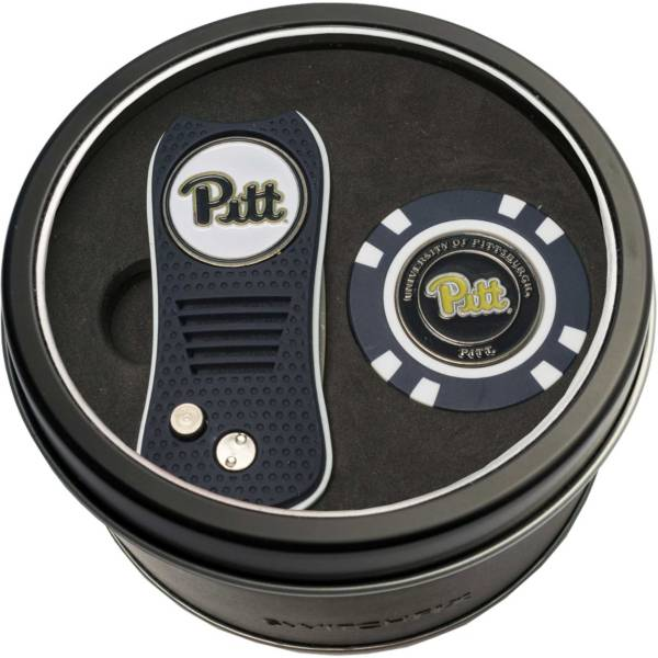 Team Golf PittPanthers Switchfix Divot Tool and Poker Chip Ball Marker Set product image