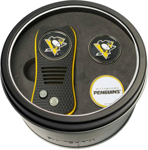 Team Golf Pittsburgh Penguins Switchfix Divot Tool and Ball Markers Set product image