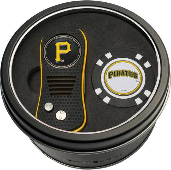 Team Golf Pittsburgh Pirates Switchfix Divot Tool and Poker Chip Ball Marker Set product image