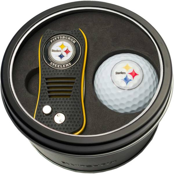 Team Golf Pittsburgh Steelers Switchfix Divot Tool and Golf Ball Set product image