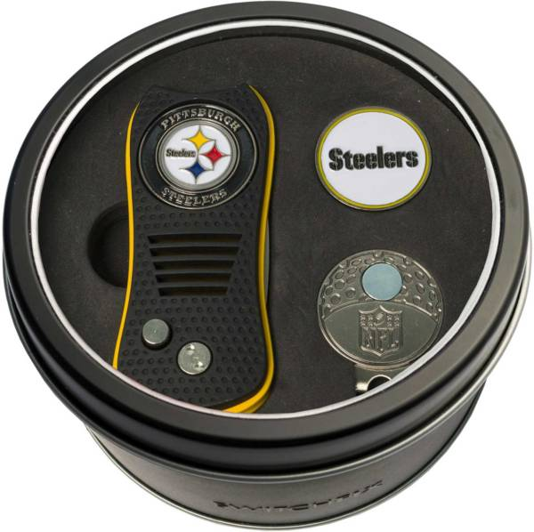 Team Golf Pittsburgh Steelers Switchfix Divot Tool and Cap Clip Set product image