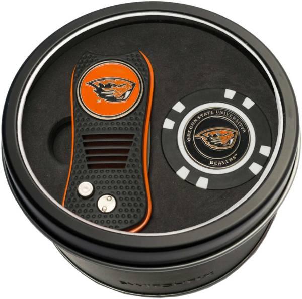 Team Golf Oregon State Beavers Switchfix Divot Tool and Poker Chip Ball Marker Set product image