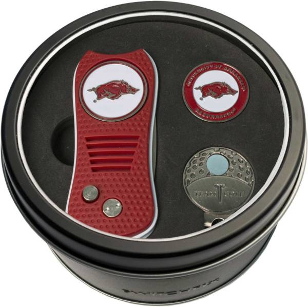 Team Golf Arkansas Razorbacks Switchfix Divot Tool and Cap Clip Set product image