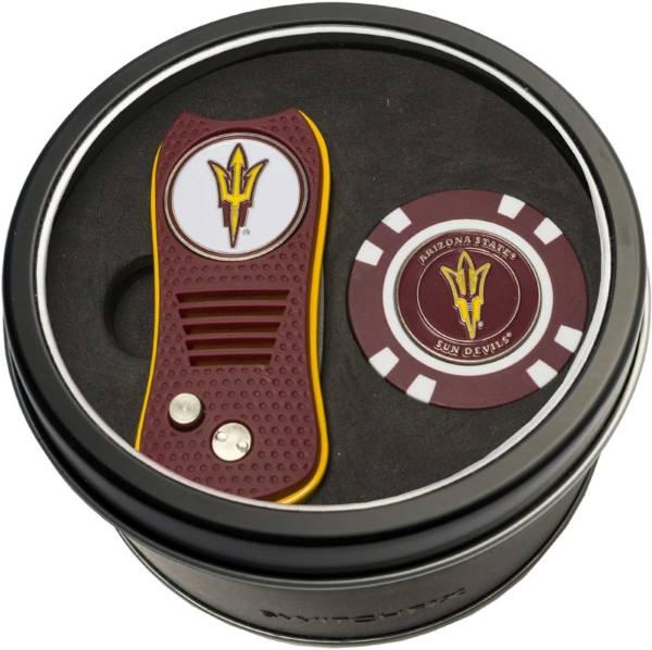 Team Golf Arizona State Sun Devils Switchfix Divot Tool and Poker Chip Ball Marker Set product image
