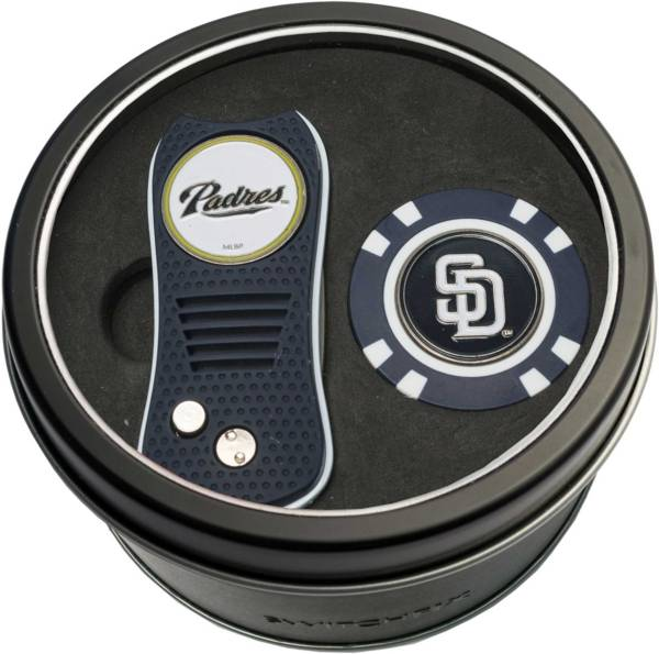 Team Golf San Diego Padres Switchfix Divot Tool and Poker Chip Ball Marker Set product image
