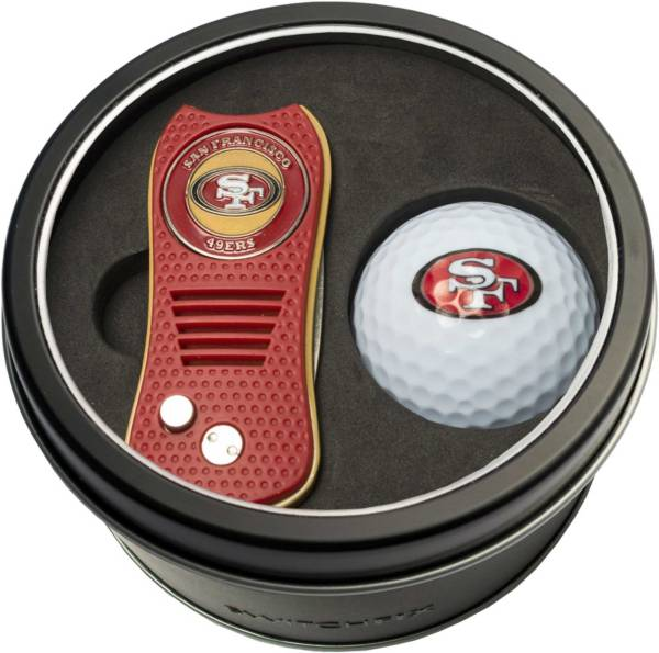 Team Golf San Francisco 49ers Switchfix Divot Tool and Golf Ball Set product image