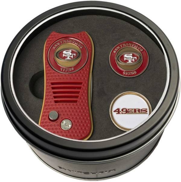 Team Golf San Francisco 49ers Switchfix Divot Tool and Ball Markers Set product image