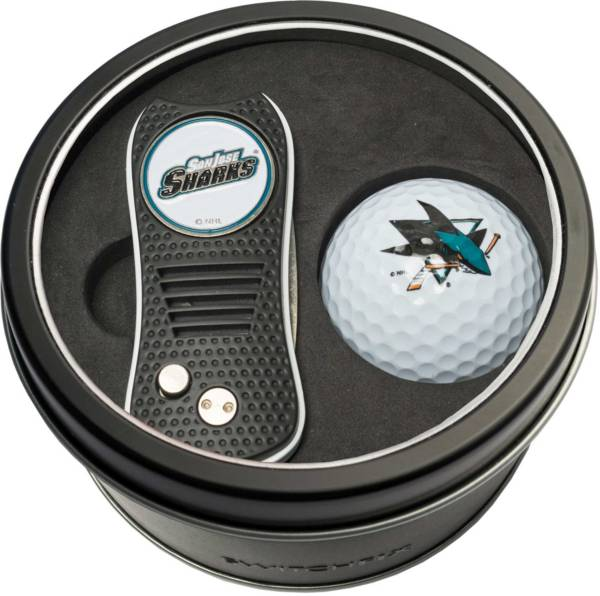 Team Golf San Jose Sharks Switchfix Divot Tool and Golf Ball Set product image