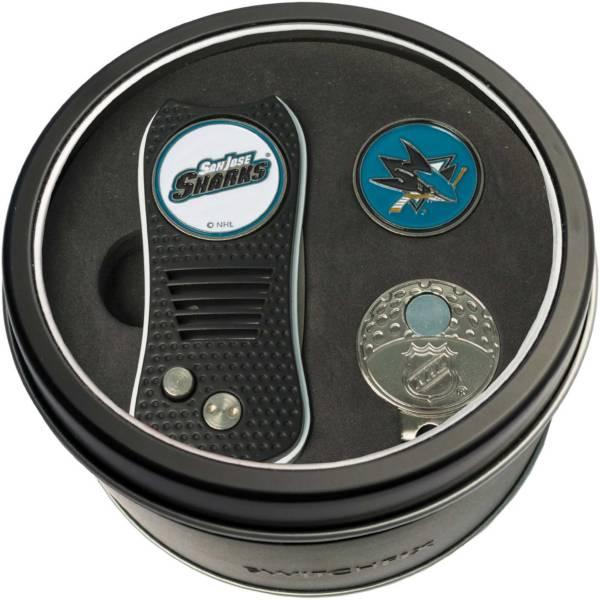 Team Golf San Jose Sharks Switchfix Divot Tool and Cap Clip Set product image