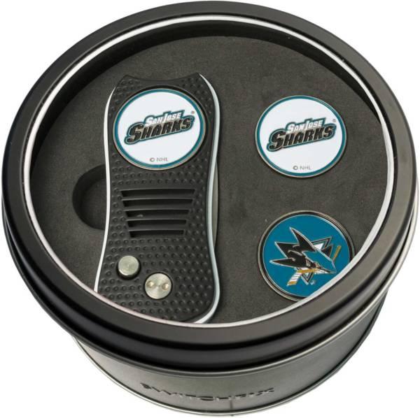 Team Golf San Jose Sharks Switchfix Divot Tool and Ball Markers Set product image
