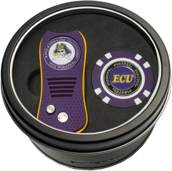 Team Golf East Carolina Pirates Switchfix Divot Tool and Poker Chip Ball Marker Set product image