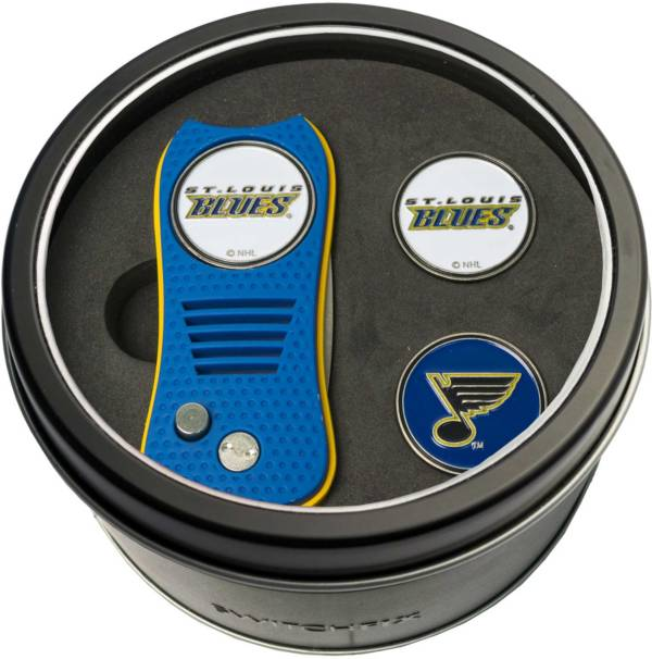 Team Golf St. Louis Blues Switchfix Divot Tool and Ball Markers Set product image