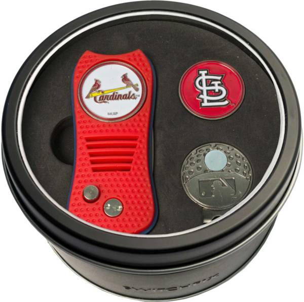 Team Golf St. Louis Cardinals Switchfix Divot Tool and Cap Clip Set product image