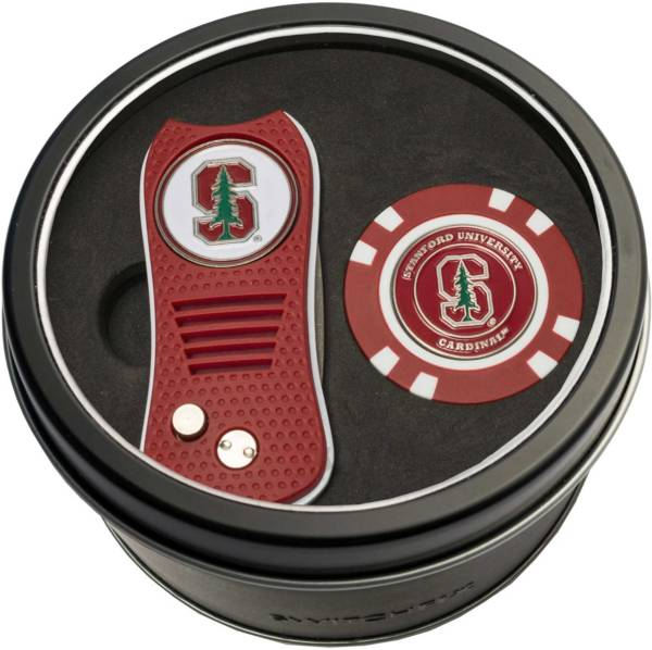 Team Golf Stanford CardinalSwitchfix Divot Tool and Poker Chip Ball Marker Set product image