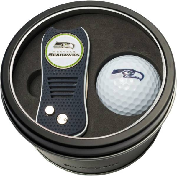 Team Golf Seattle Seahawks Switchfix Divot Tool and Golf Ball Set product image