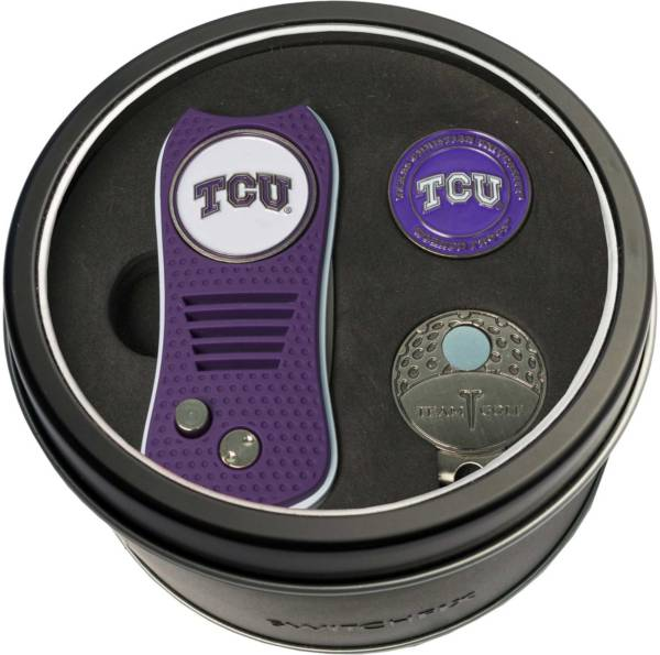 Team Golf TCU Horned Frogs Switchfix Divot Tool and Cap Clip Set product image