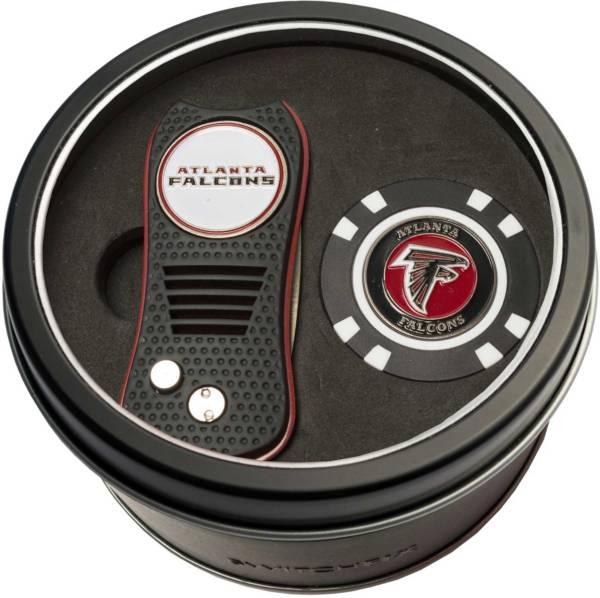 Team Golf Atlanta Falcons Switchfix Divot Tool and Poker Chip Ball Marker Set product image