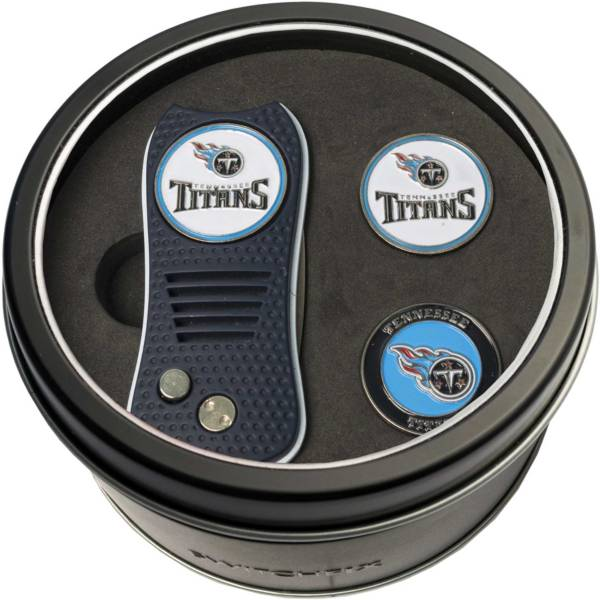 Team Golf Tennessee Titans Switchfix Divot Tool and Ball Markers Set product image