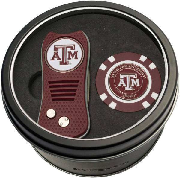 Team Golf Texas A&M Aggies Switchfix Divot Tool and Poker Chip Ball Marker Set product image