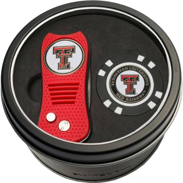Team Golf Texas Tech Red Raiders Switchfix Divot Tool and Poker Chip Ball Marker Set product image
