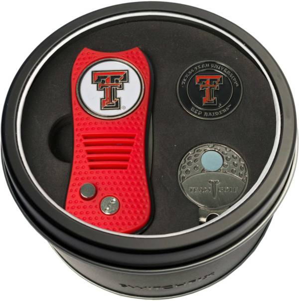 Team Golf Texas Tech Red Raiders Switchfix Divot Tool and Cap Clip Set product image