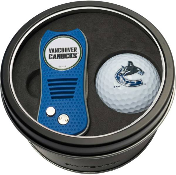 Team Golf Vancouver Canucks Switchfix Divot Tool and Golf Ball Set product image