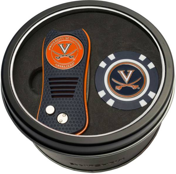 Team Golf Virginia Cavaliers Switchfix Divot Tool and Poker Chip Ball Marker Set product image