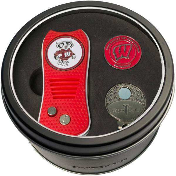 Team Golf Wisconsin Badgers Switchfix Divot Tool and Cap Clip Set product image