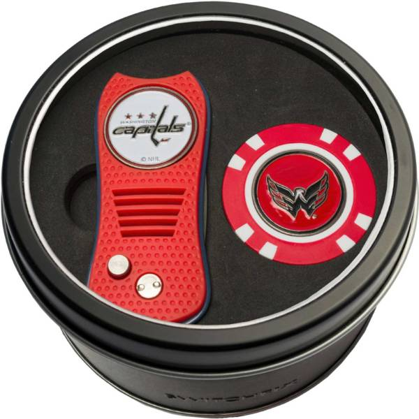 Team Golf Washington Capitals Switchfix Divot Tool and Poker Chip Ball Marker Set product image