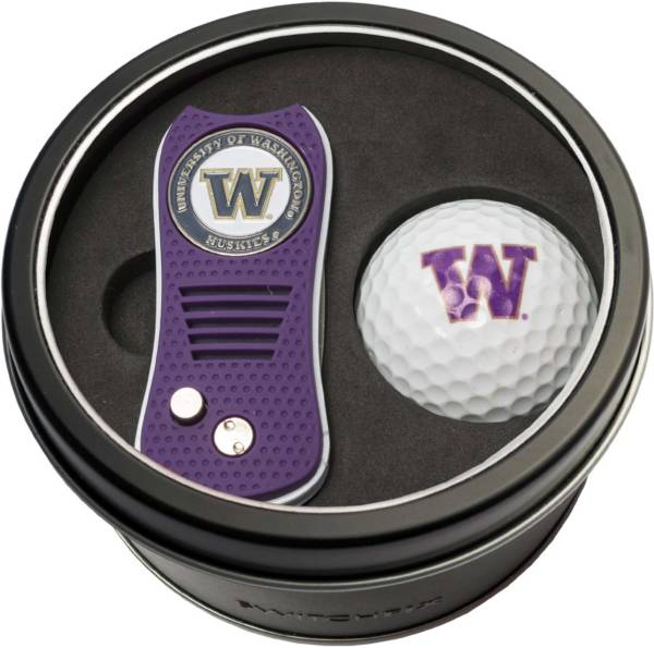 Team Golf Washington Huskies Switchfix Divot Tool and Golf Ball Set product image