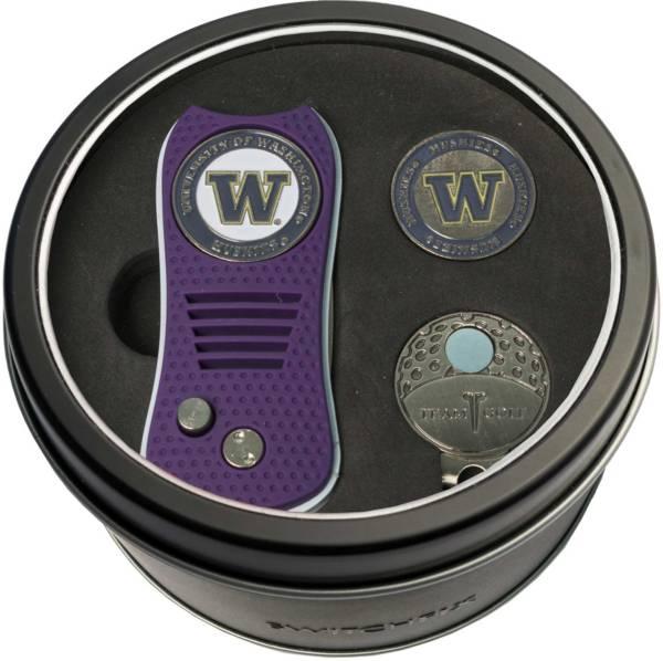 Team Golf Washington Huskies Switchfix Divot Tool and Cap Clip Set product image