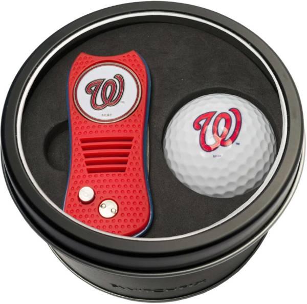 Team Golf Washington Nationals Switchfix Divot Tool and Golf Ball Set product image