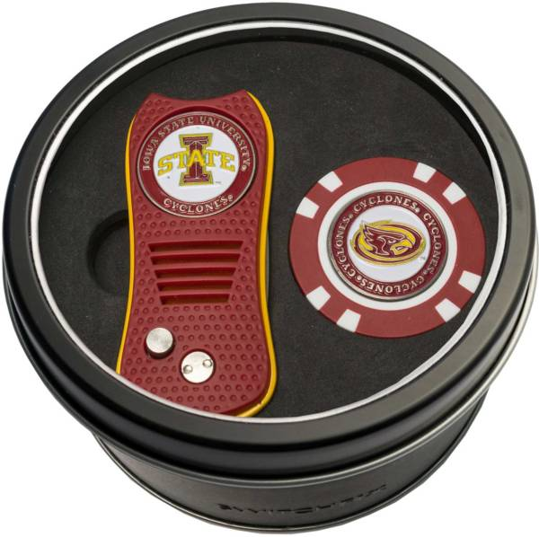 Team Golf Iowa State Cyclones Switchfix Divot Tool and Poker Chip Ball Marker Set product image