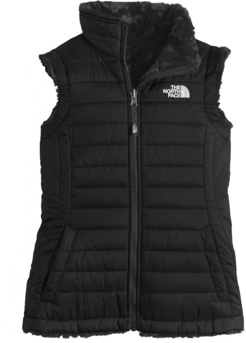 ca8af66c9d The North Face Girls  Reversible Mossbud Swirl Insulated Vest.  noImageFound. 1