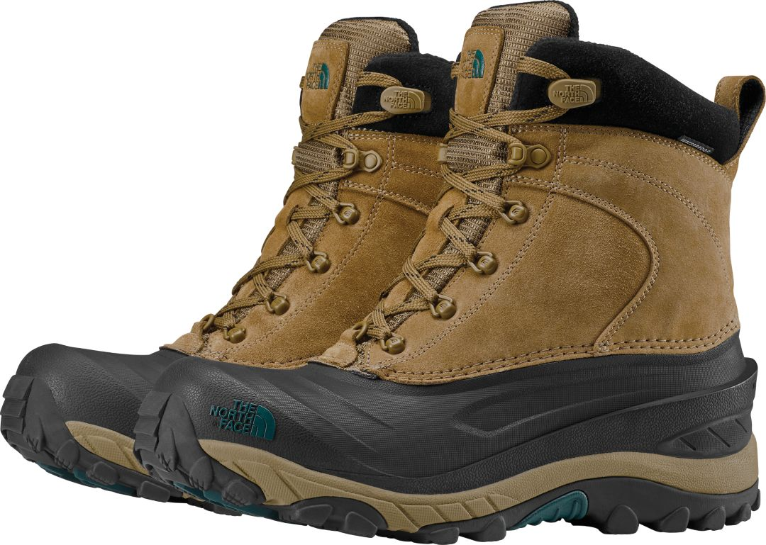 b855a789f The North Face Men's Chilkat III 200g Waterproof Winter Boots