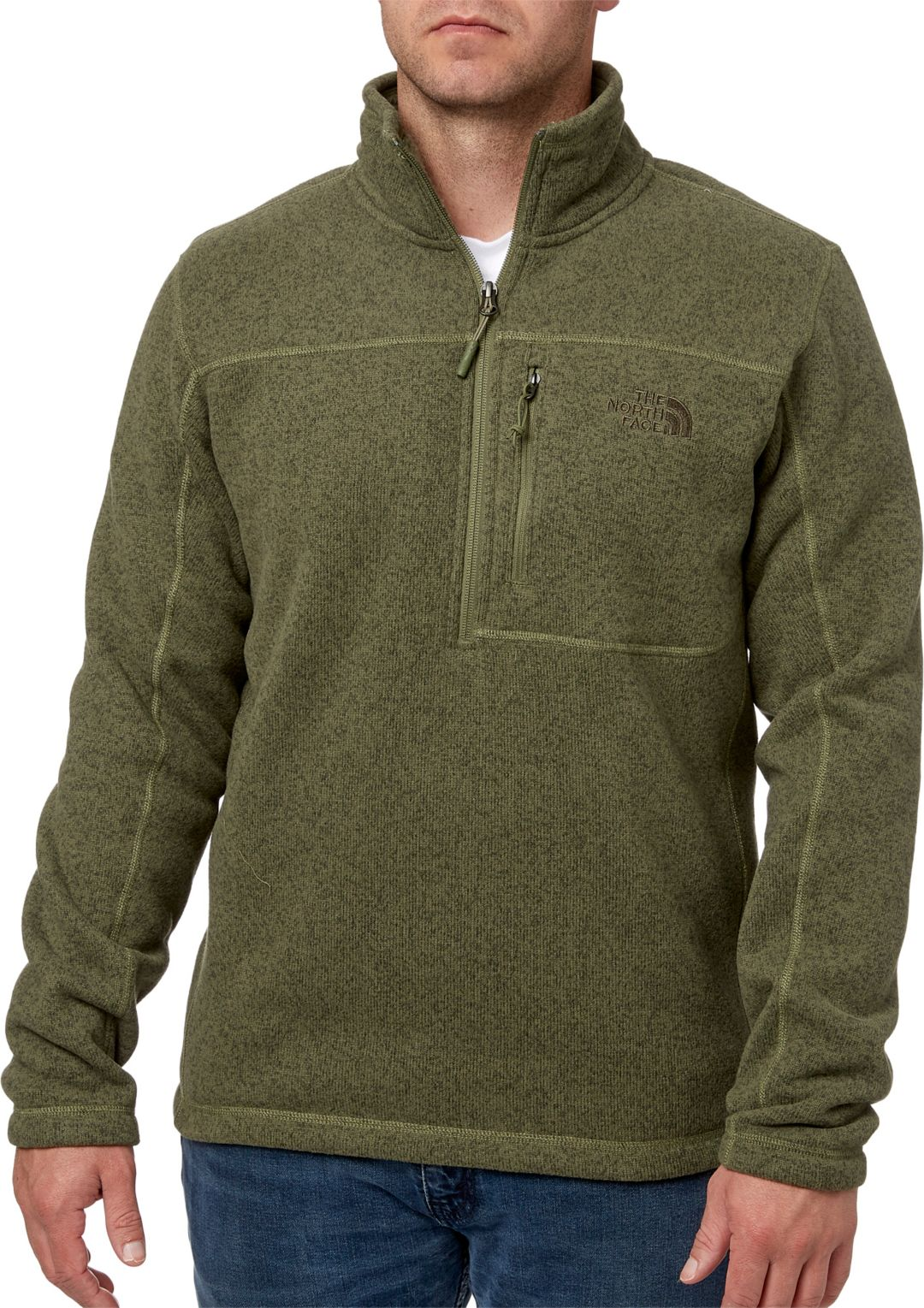 a173e8e048faf8 The North Face Men's Gordon Lyons Quarter Zip Fleece Pullover ...