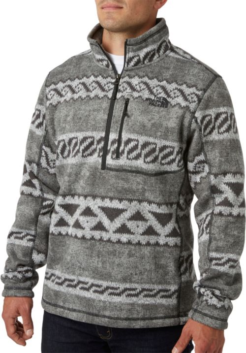 12a1cedd8799 The North Face Men s Novelty Gordon Lyons 1 4 Zip Fleece Pullover ...