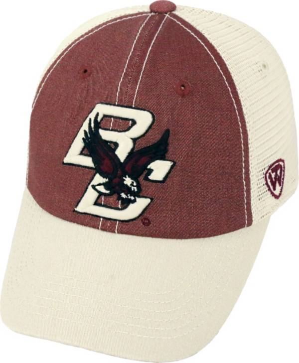 Top of the World Men's Boston College Eagles Maroon/White Off Road Adjustable Hat product image