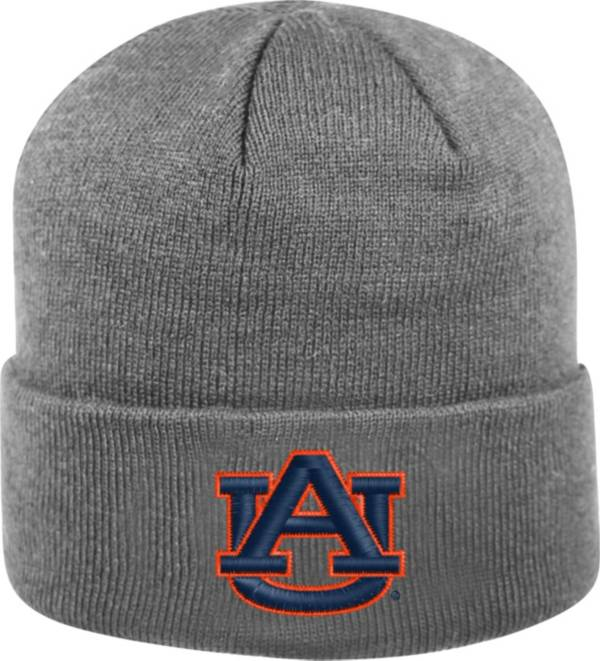 Top of the World Men's Auburn Tigers Grey Cuff Knit Beanie product image