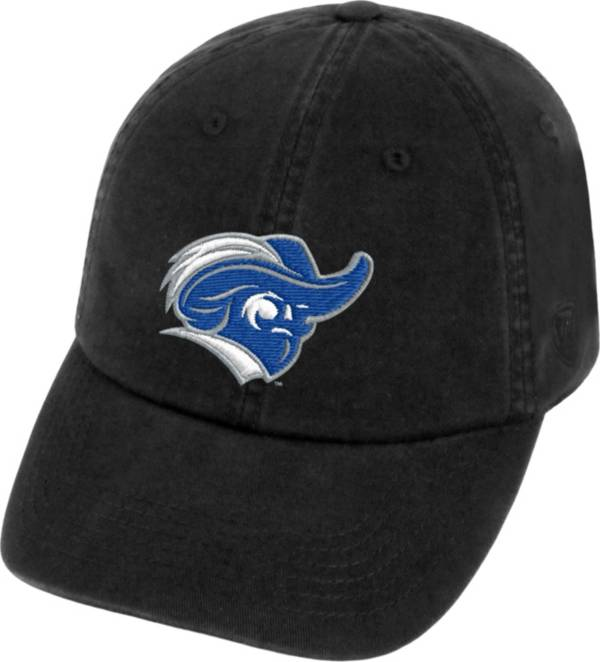 Top of the World Men's Christopher Newport Captains Black Crew Adjustable Hat product image