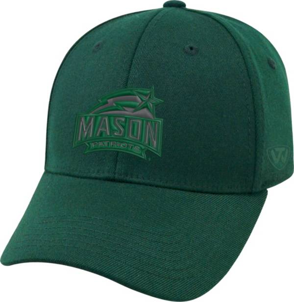 Top of the World Men's George Mason Patriots Green Premium Collection M-Fit Hat product image