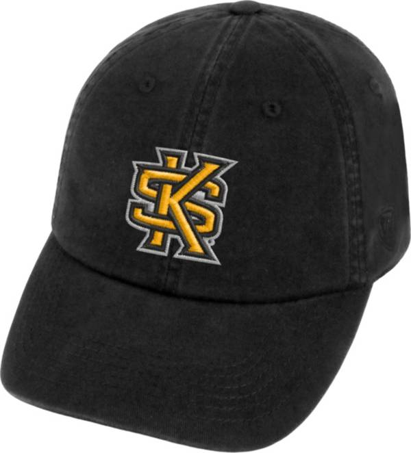 Top of the World Men's Kennesaw State Owls Black Crew Adjustable Hat product image