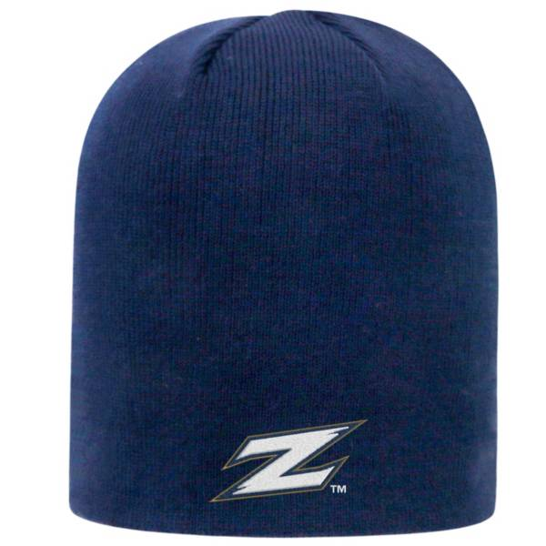 Top of the World Men's Akron Zips Navy TOW Classic Knit Beanie product image