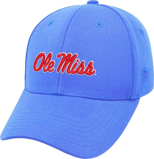 Top of the World Men's Ole Miss Rebels Light Blue Premium Collection M-Fit Hat product image